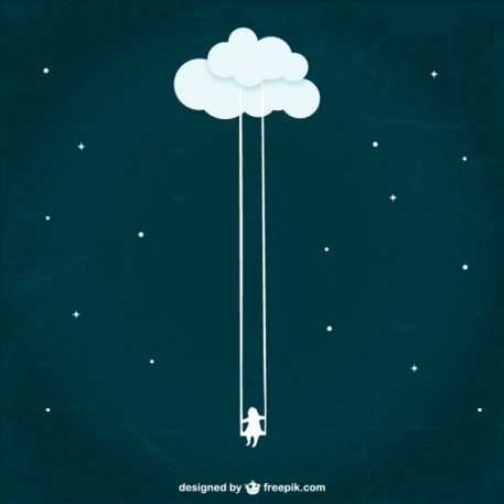 Cloud vector designed by Freepik